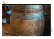 Vintage Barrel Carry-all Pouch