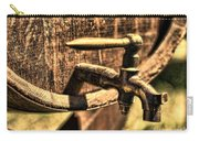 Vintage Barrel Tap Carry-all Pouch by Paul Ward