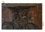 Vintage Bicycle Carry-all Pouch by Susan Candelario