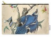 Vintage Bird Study-f Carry-all Pouch
