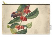 Vintage Bird Study-h Carry-all Pouch