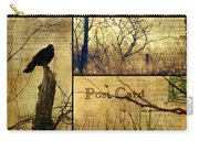 Vintage Birds Collage Carry-all Pouch