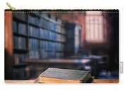 Vintage Books And Glasses In An Old Library Carry-all Pouch