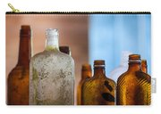 Vintage Bottles Carry-all Pouch by Adam Romanowicz