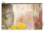 Vintage Buddha And Ginkgo Carry-all Pouch