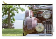 Vintage Caddy At Lake George Carry-all Pouch