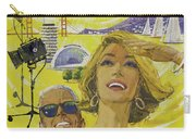 Vintage California Travel Poster Carry-all Pouch