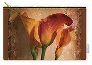 Vintage Calla Lily Carry-all Pouch by Jessica Jenney