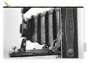 Vintage Camera - Black And White Carry-all Pouch