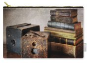 Vintage Cameras And Books Carry-all Pouch
