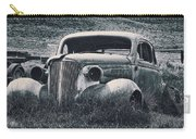 Vintage Car At Bodie Carry-all Pouch by Kelley King