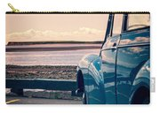 Vintage Car At The Beach  Carry-all Pouch