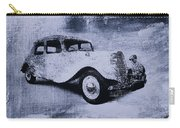 Vintage Car Carry-all Pouch by David Ridley