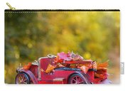 Vintage Car With Autumn Leaves Carry-all Pouch