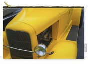 Vintage Car Yellow Carry-all Pouch