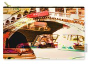 Vintage Cars Collage Carry-all Pouch