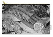 Vintage Carved Facade  Carry-all Pouch