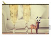 Vintage Champagne Carry-all Pouch