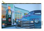 Vintage Chevrolet At The Gas Station Carry-all Pouch