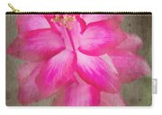 Vintage Christmas Cactus Carry-all Pouch