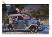 Vintage Christmas Car Carry-all Pouch