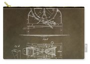 Vintage Cider Mill Patent Carry-all Pouch