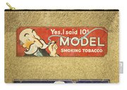 Vintage Cigar And Tobacco Signs Dsc07152 Carry-all Pouch