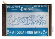 Vintage Coca Cola Ad Carry-all Pouch