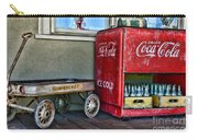 Vintage Coca-cola And Rocket Wagon Carry-all Pouch