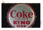 Vintage Coca Cola Bottle Cap Carry-all Pouch