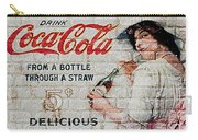 Vintage Coke Sign Carry-all Pouch