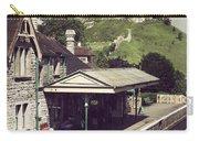 Vintage Corfe Castle Carry-all Pouch