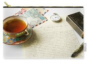 Vintage Correspondence Carry-all Pouch