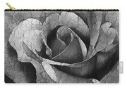 Vintage Cracked Rose Carry-all Pouch
