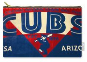 Vintage Cubs Spring Training Sign Carry-all Pouch