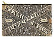 Vintage Currency  Carry-all Pouch by Chris Berry