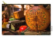 Vintage Cuss Box Carry-all Pouch