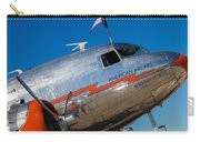 Vintage Dc-3 Airplane Carry-all Pouch