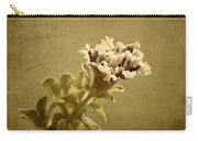 Vintage Double Petunia Carry-all Pouch