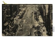 Vintage Downtown View Carry-all Pouch