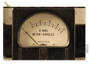 Vintage Electrical Meters Carry-all Pouch