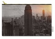 Vintage Empire State Building Carry-all Pouch