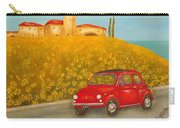Vintage Fiat 500 Carry-all Pouch