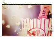 Vintage Film And Cinema Carry-all Pouch