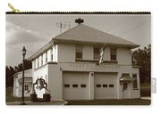 Congers, New York - Vintage Firehouse Carry-all Pouch