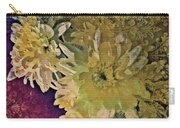 Vintage Flower Tapestry Carry-all Pouch