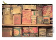Vintage Food Pantry Carry-all Pouch