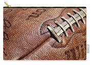 Vintage Football Carry-all Pouch by Art Block Collections