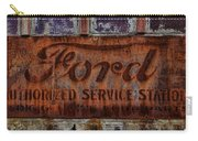 Vintage Ford Authorized Service Sign Carry-all Pouch