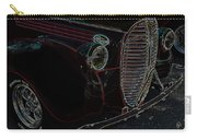 Vintage Ford Neon Art Grill Carry-all Pouch